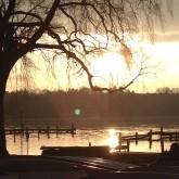 Wassersport&Hafenleben/Sonnenuntergang